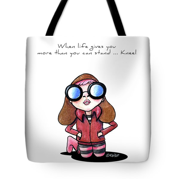 When Life Gives You Tote Bag by Kim Niles