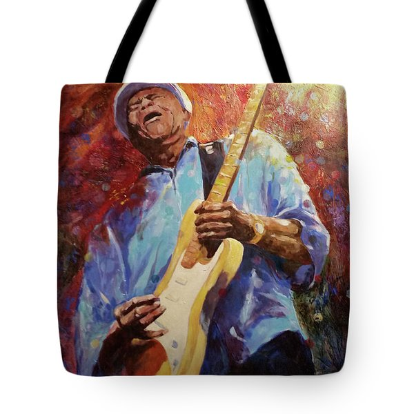 When Lightning Strikes  Tote Bag