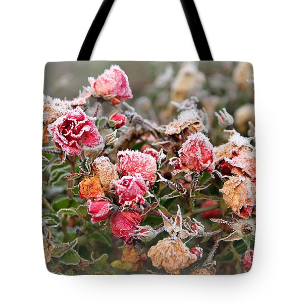 When Love Grows Cold Tote Bag by Katie Wing Vigil