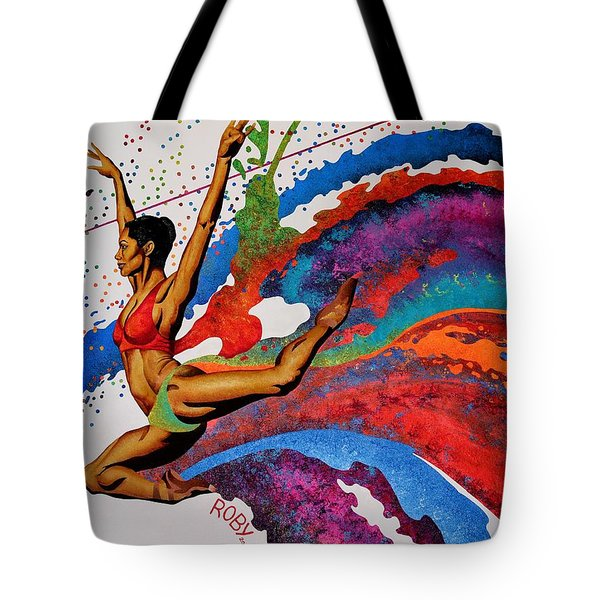 When Misty Moves Tote Bag