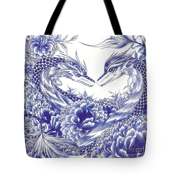 When Our Eyes Meet Tote Bag