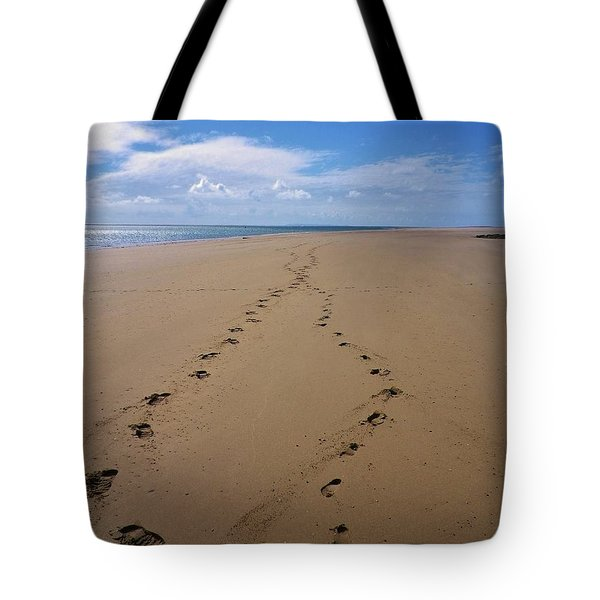 When Our Paths Crossed Tote Bag