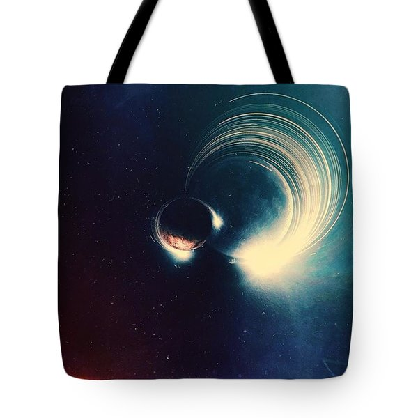 When Our Worlds Collide Tote Bag