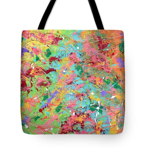 When Pollock Was Happy Tote Bag