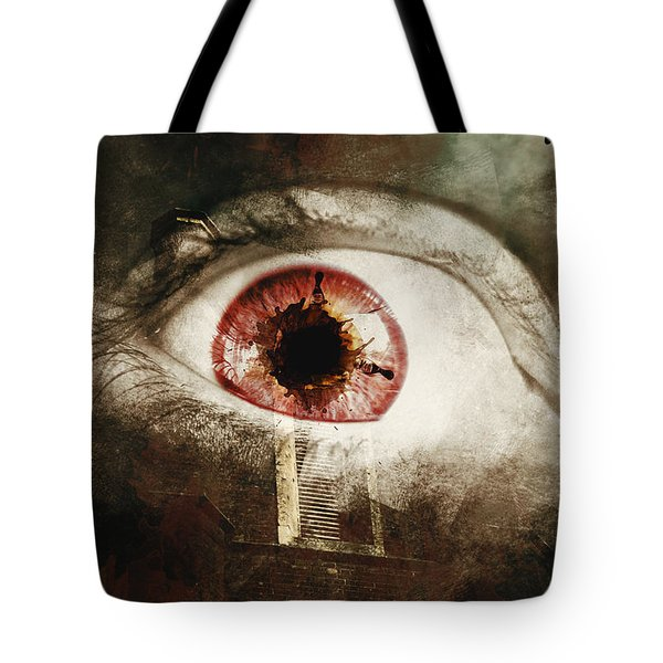 Tote Bag featuring the photograph When Souls Escape by Jorgo Photography - Wall Art Gallery