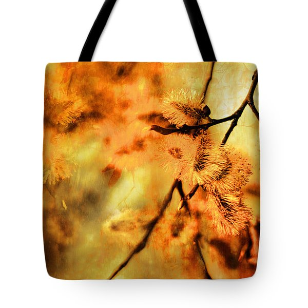 Tote Bag featuring the digital art When Spring Awakens by Fine Art By Andrew David