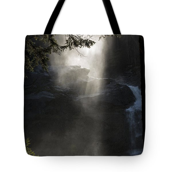 When Sunlight And Water Spray Meet 03 Tote Bag