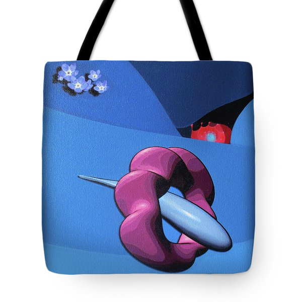 When Sunny Gets Blue Tote Bag
