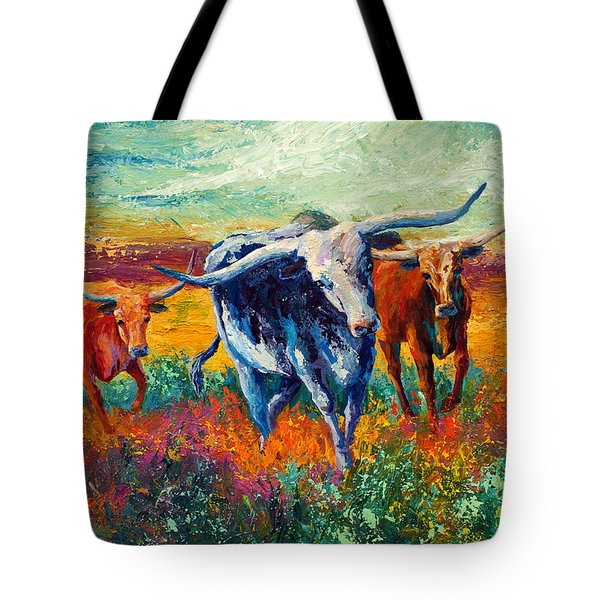 When The Cows Come Home Tote Bag