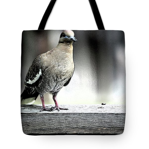 When The Doves Cry Tote Bag