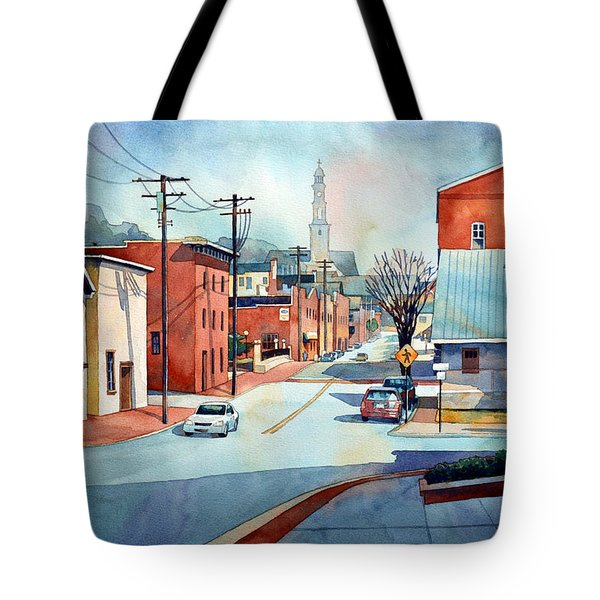 When The Fog Lifts Tote Bag