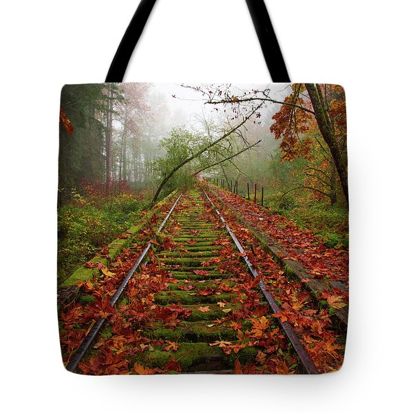 When The Fog Rolls In And My Progress Slows... Tote Bag