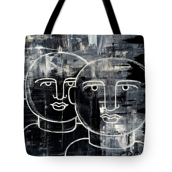 When The Goings Get Tough 50x50 Print By Erod Tote Bag