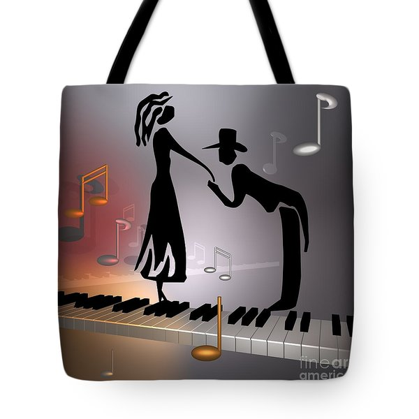 When The Music ... Tote Bag