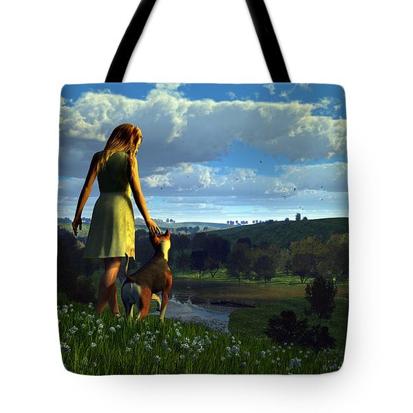 When The Sparrows Sing Tote Bag