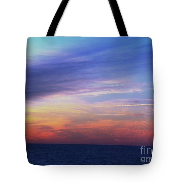 When The Sun Kissed The Sky  Tote Bag