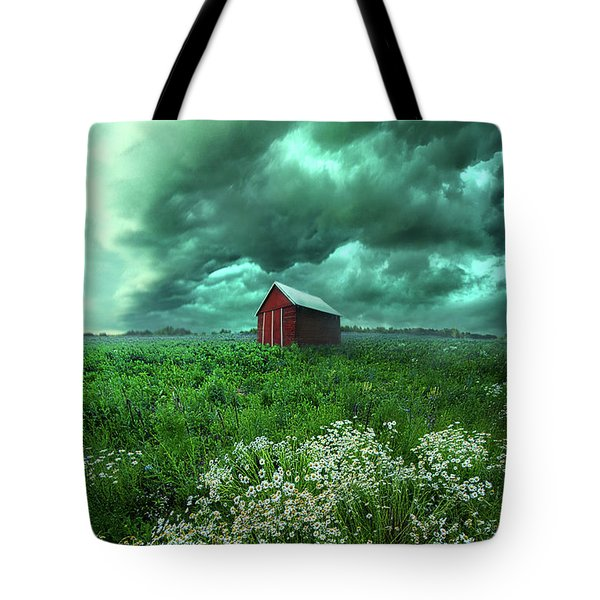 When The Thunder Rolls Tote Bag