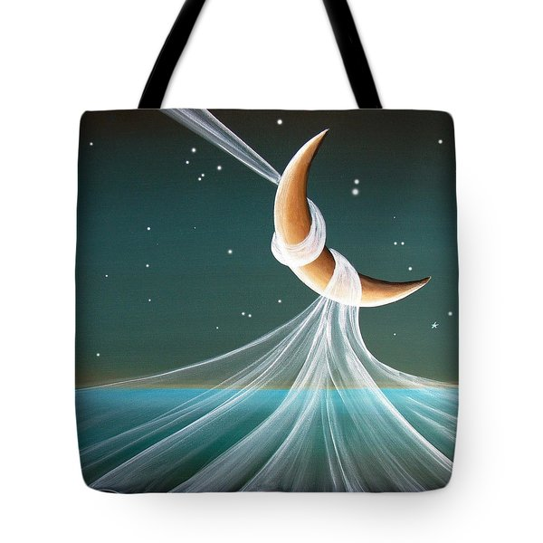 When The Wind Blows Tote Bag by Cindy Thornton