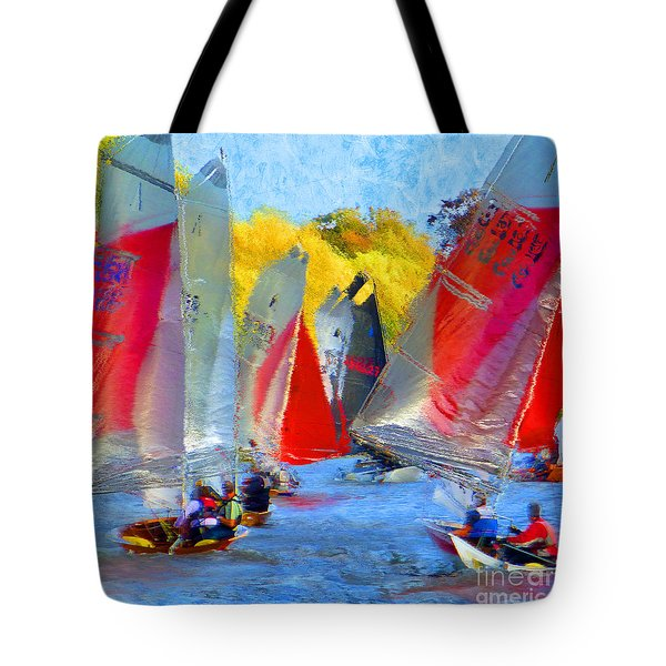 When The Wind Blows Tote Bag