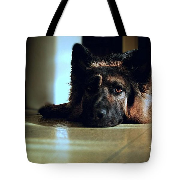 When Their Eyes Look At Your Soul Tote Bag