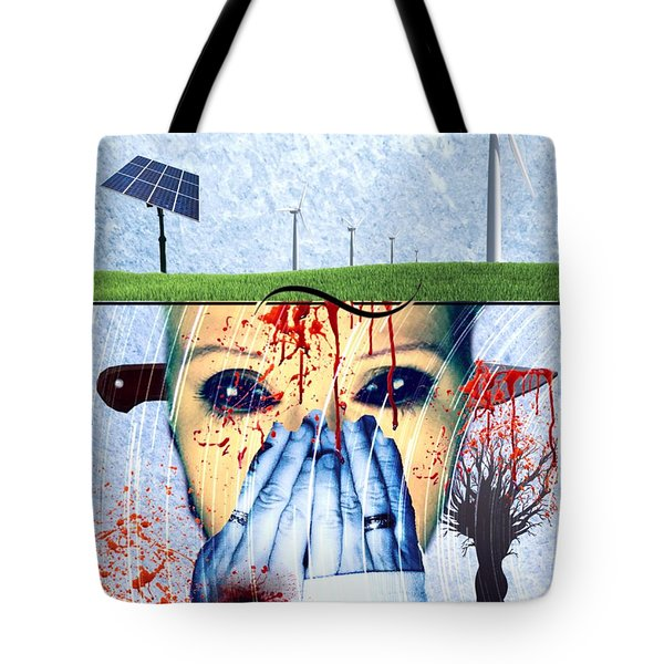 When They Take The Mind Tote Bag