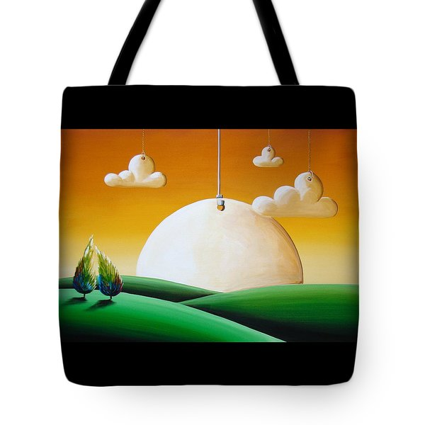 When Time Stands Still Tote Bag by Cindy Thornton