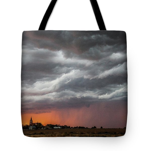 When Trouble Rises.....  Tote Bag