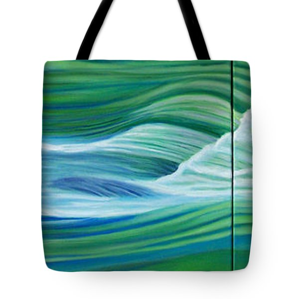 When We Met    Tote Bag by Brian  Commerford