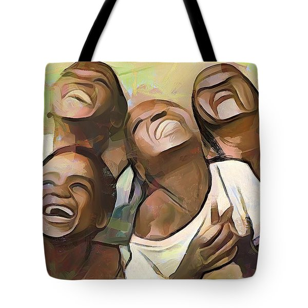 When We Were Boys Tote Bag by Wayne Pascall