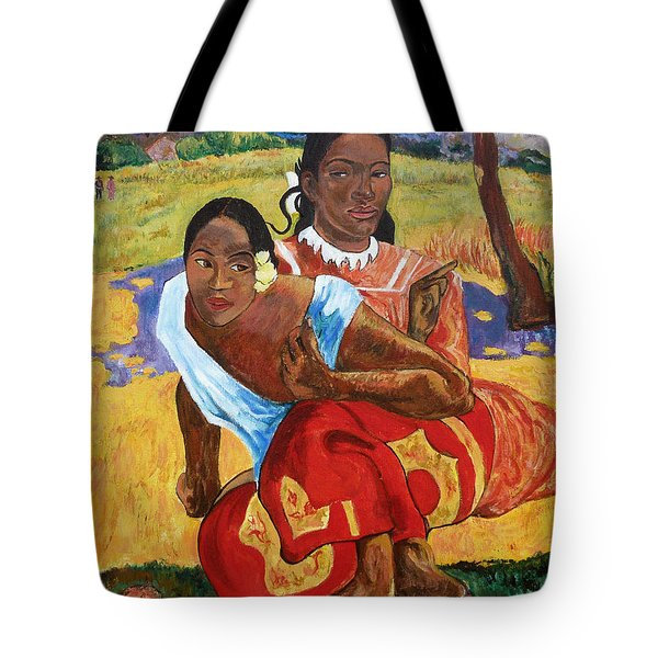 Tote Bag featuring the painting When Will You Marry? by Tom Roderick
