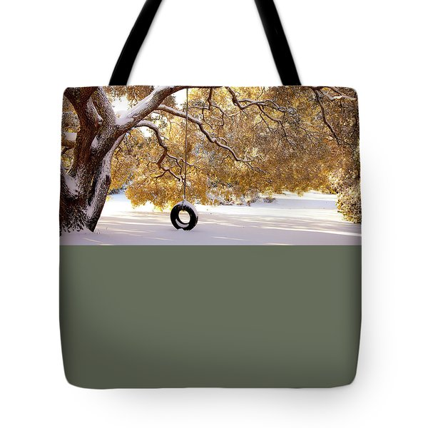 Tote Bag featuring the photograph When Winter Blooms by Karen Wiles