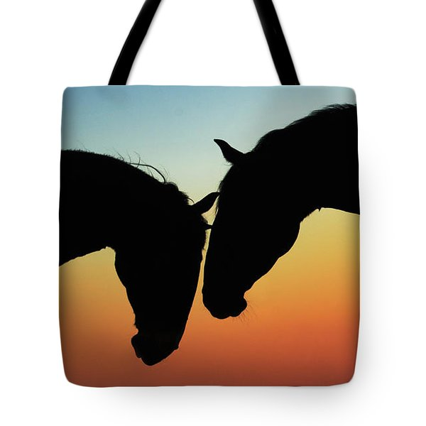 When Words Are Needless Tote Bag