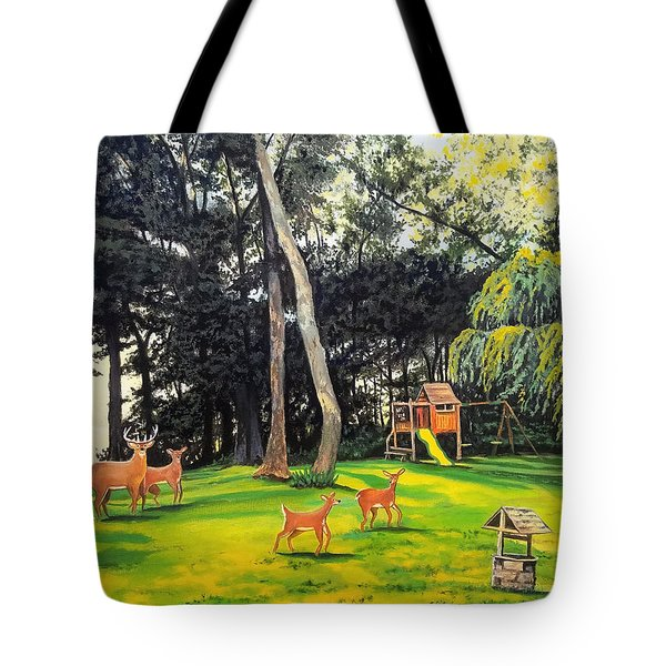 Tote Bag featuring the painting When World's Collide by Kevin F Heuman