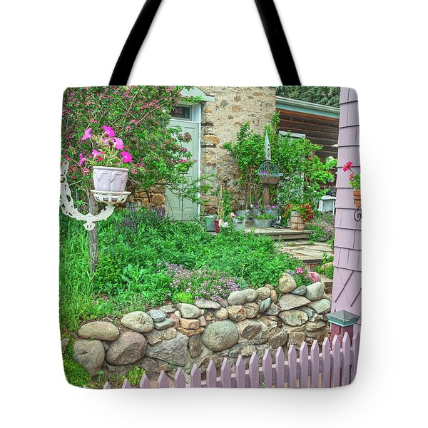 When You're In Idaho Springs, Colorado, Have A Beer With Us In Our Backyard. Cool Your Pipes Here. Tote Bag