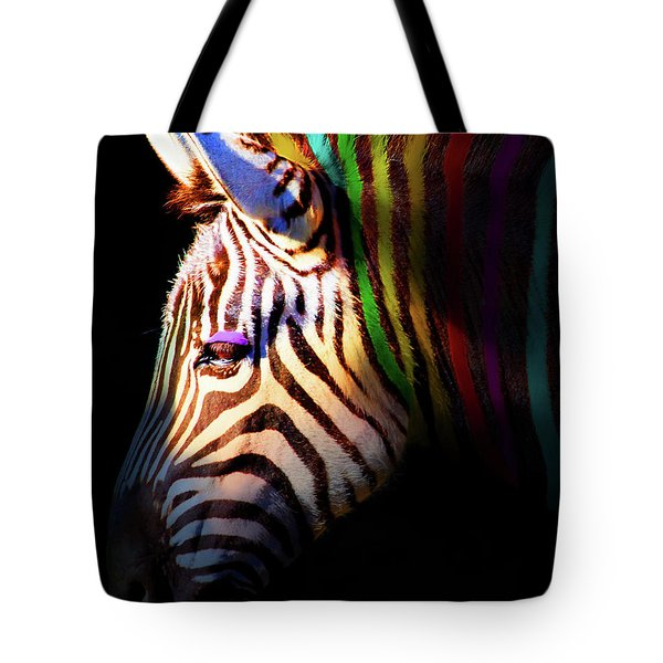 When Zebras Dream 7d8908 Vertical Tote Bag