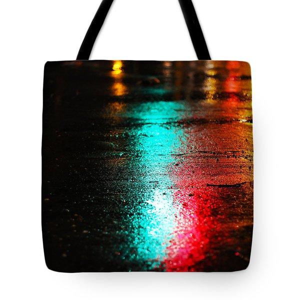 Whenever It Rains Tote Bag