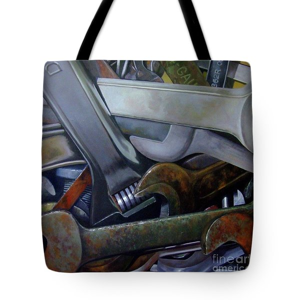Where Have All The Mechanics Gone Tote Bag