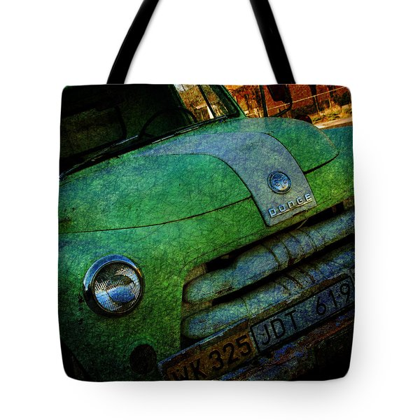 Where Are The Good Old Days Gone Tote Bag by Susanne Van Hulst