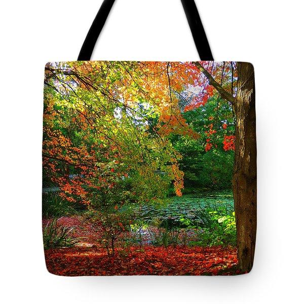 Where Autumn Lingers  Tote Bag