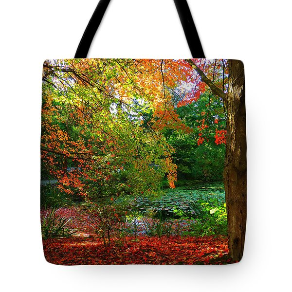 Where Autumn Lingers  Tote Bag