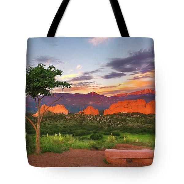 Tote Bag featuring the photograph Where Beauty Overwhelms by Tim Reaves