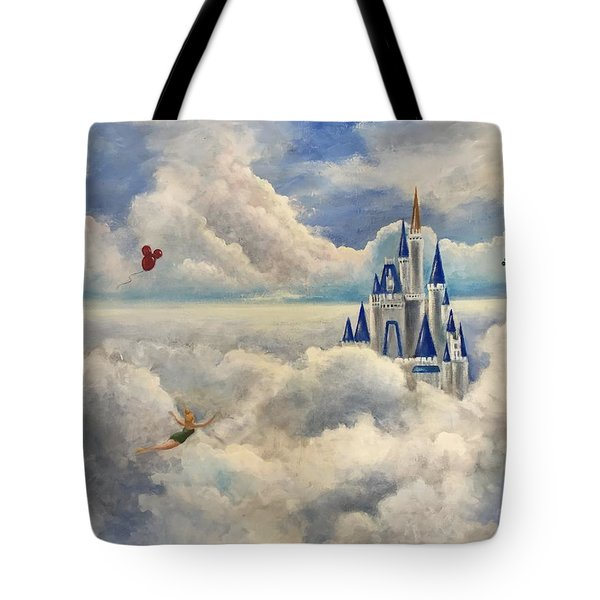 Where Dreams Come True Tote Bag