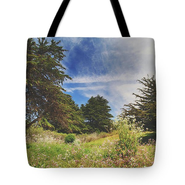 Where Fairies Play Tote Bag by Laurie Search