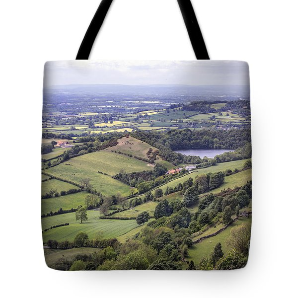 Where Fields Never End Tote Bag