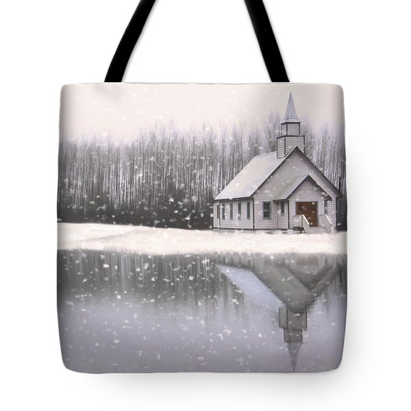 Where Hope Grows - Hope Valley Art Tote Bag by Jordan Blackstone