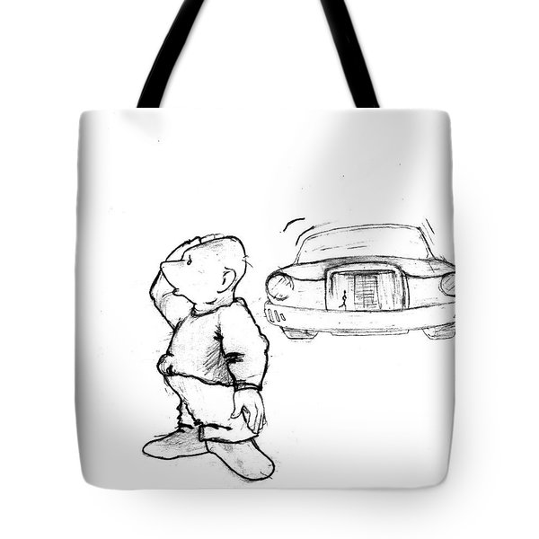 Where I Am... Tote Bag by Line Gagne
