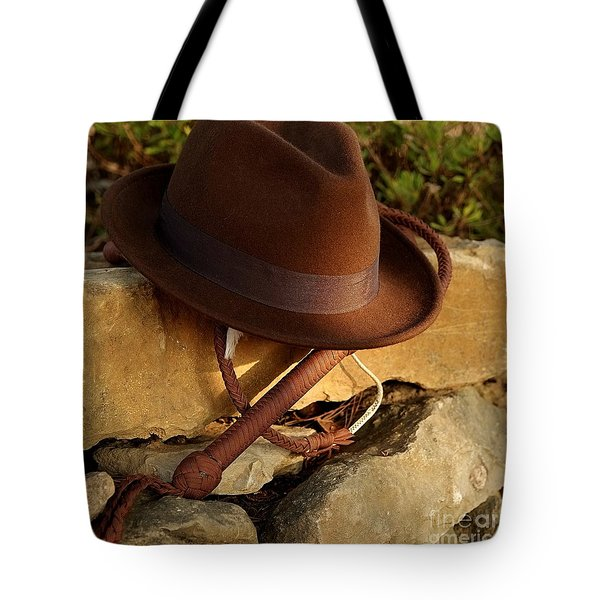 Where Is Indiana? Tote Bag by Angelo DeVal