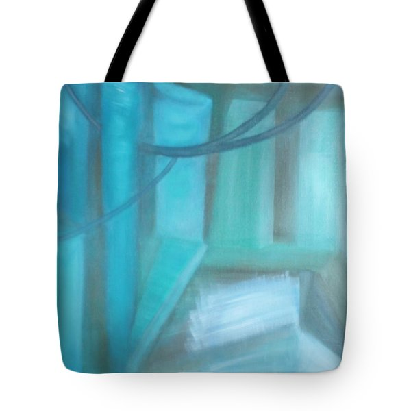 Where Is The Road? Tote Bag by Min Zou