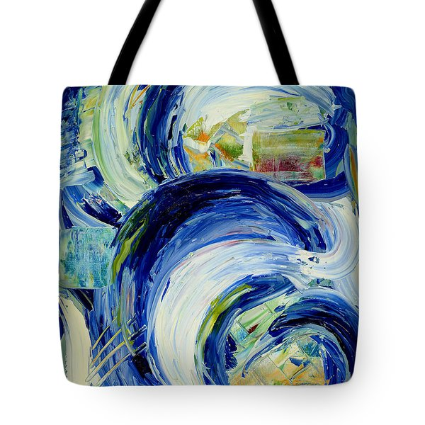 Tote Bag featuring the painting Where by Silke Brubaker