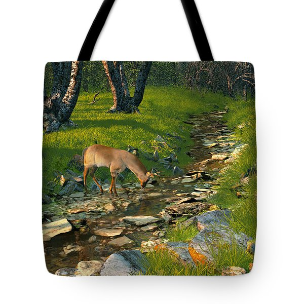 Where The Buck Stops Tote Bag
